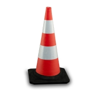 rubber cone high intensity - Traffic safety system