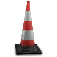rubber cone high intensity - Road safety system