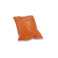 orange bag with sand - Traffic safety system