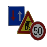 plastic signs - Road signs