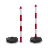 pvc pole featured - Rubber cones